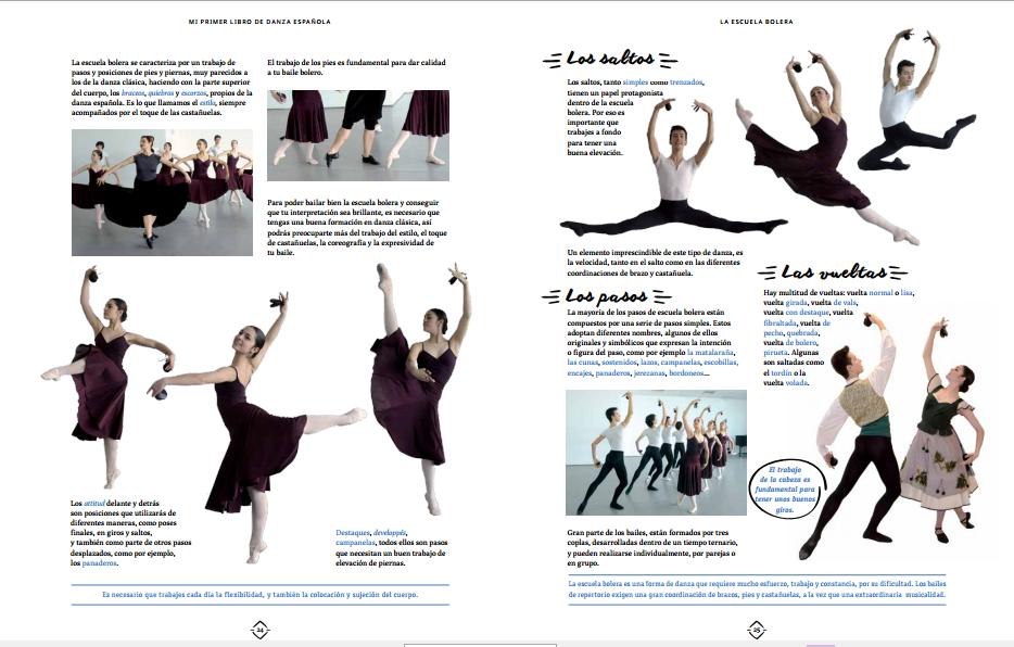Resultado de imagen de mi primer libro de danza española